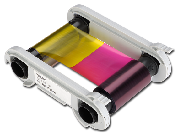 Evolis Colour Ribbon YMCKO 200 Cards